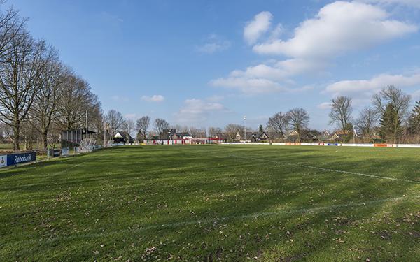 Hoofdveld van de Giesbeekse Sportvereniging'38