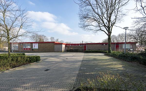 Clubgebouw Giesbeekse Sportvereniging'38 in Giesbeek