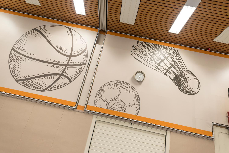 Ataro BV Sporthal Lentemorgen-detail doeken