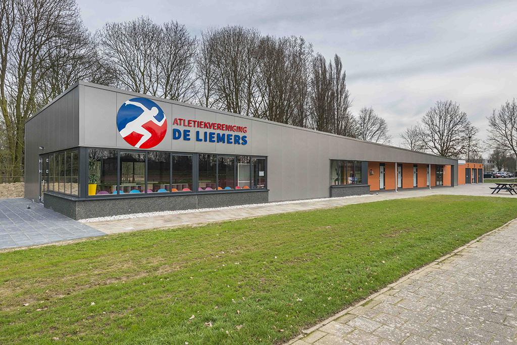 Clubgebouw Atletiekvereniging De Liemers